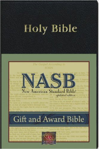 NASB Gift and Award Bible (Black)