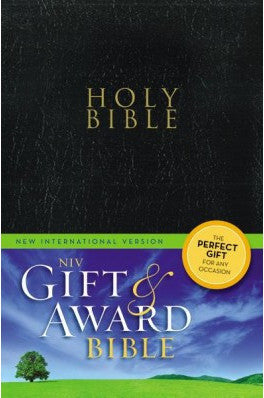 NIV Gift & Award Bible (Black) Soft Cover