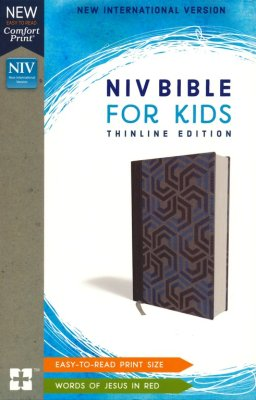 NIV Bible for Kids: Thinline Edition (Blue, Comfort Print)