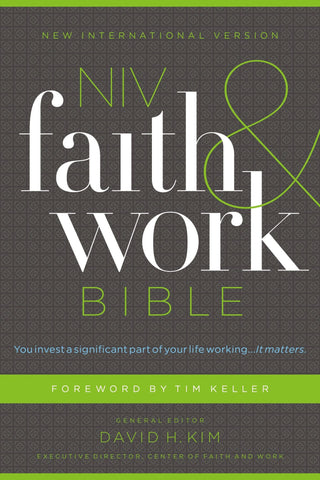 NIV Faith & Work Bible (Hardcover)