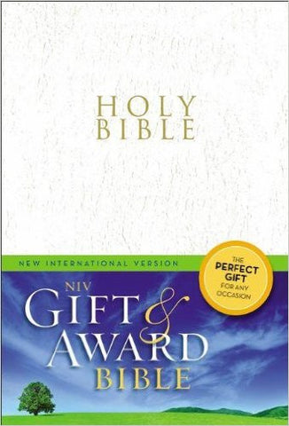NIV Gift & Award Bible (White)