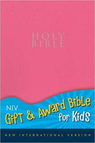 NIV Gift and Award Bible for Kids (Pink)