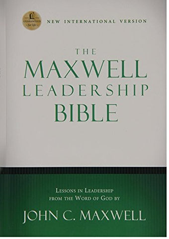 NIV The Maxwell Leadership Bible