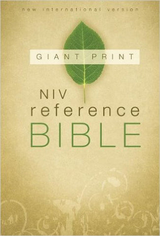 NIV Reference Bible Giant Print