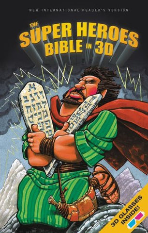 NIrV The Super Heroes Bible in 3D