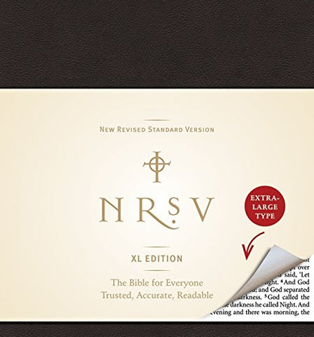 NRSV Bible XL Edition (Leather-Like, Black)