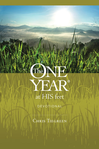 The One Year at His Feet (Devotional)
