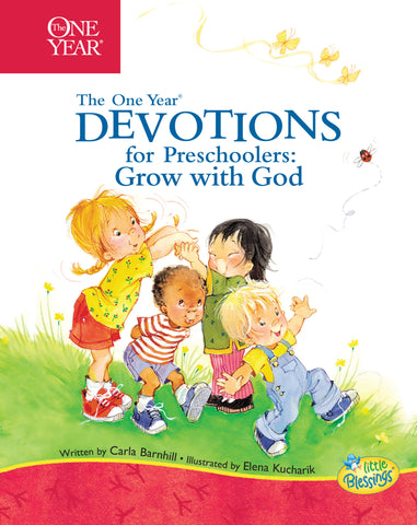 One Year Devotions for Preschoolers 2: Grow with God
