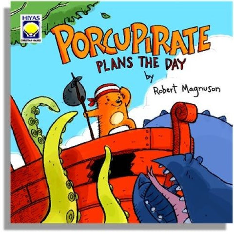 Porcupirate Plans the Day