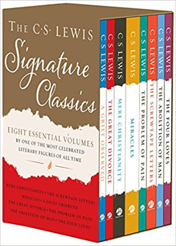 The C.S Lewis Signature Classics 8-Volume Box Set