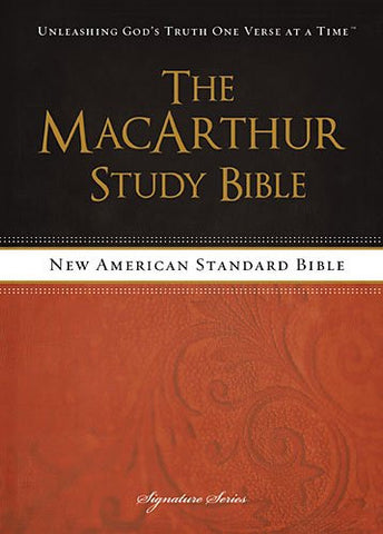 NASB The MacArthur Study Bible