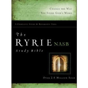 NASB The Ryrie Study Bible Hardcover Red Letter