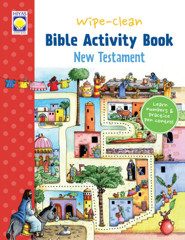 Wipe-Clean Bible Activity Book: New Testament
