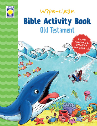 Wipe-Clean Bible Activity Book: Old Testament