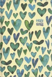 NIV Bible for Kids Thinline Edition Large Print (Comfort Print, Hardcover, Cloth-over-Board, Teal)