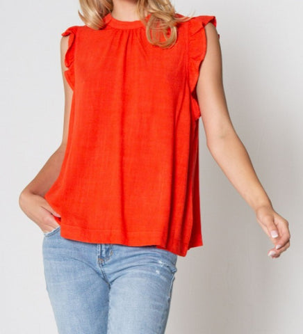 model from the 308 boutique wearing a Dear John sleeveless top