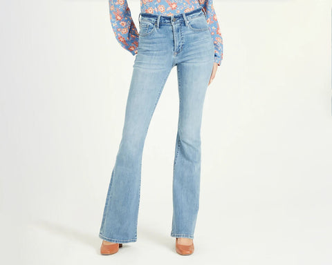 flare jeans for fall by dear john at 308 boutique