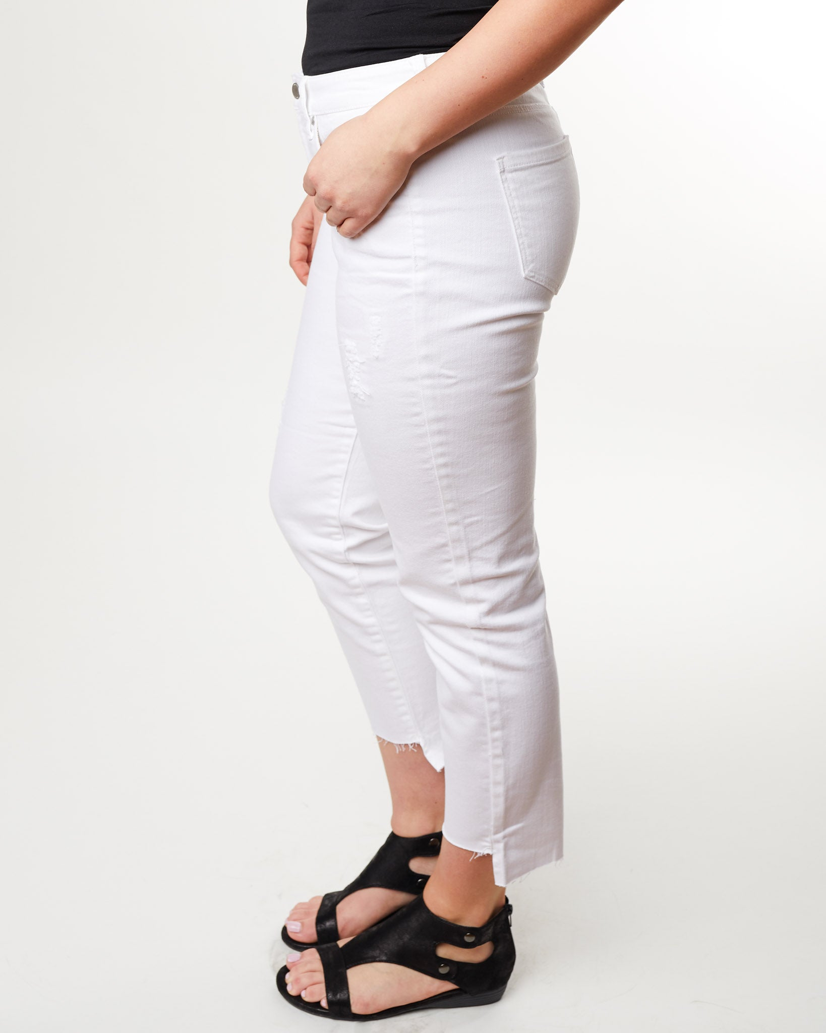 "Jayden Crop Straight 27"" Inseam - The 308 Boutique"