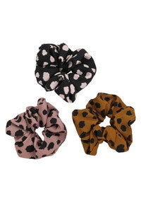 Multi Print Scrunchies - 3 pk.