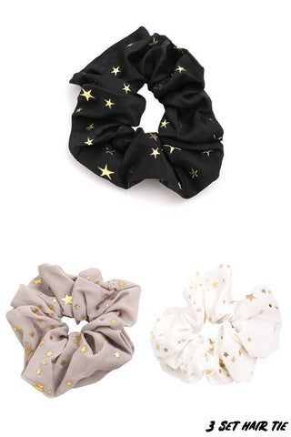 Star Scrunchies