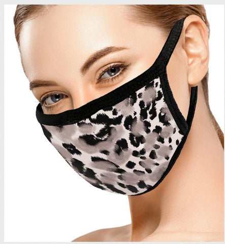 Fashion Print Face Mask