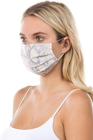 Printed Adult Face Mask