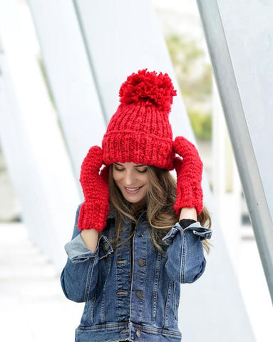 Joy Hat & Mitten Set