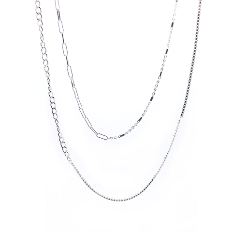 Chain Chain Chain Wrap Necklace