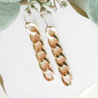 Chain Link Earrings