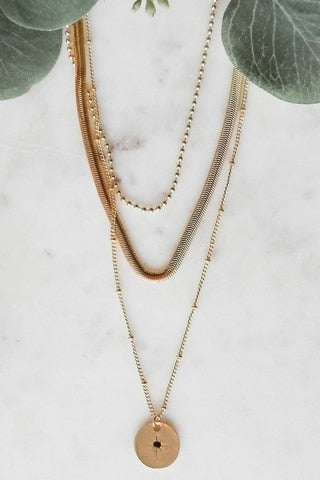 Three-Layer Necklace