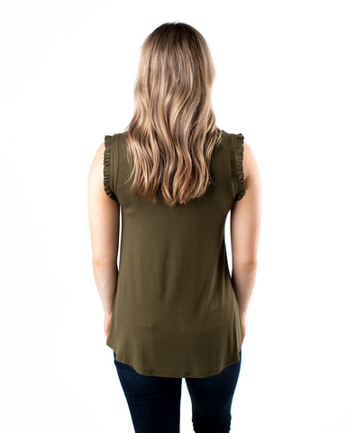 Brave Sleeveless Top