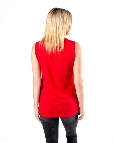 Three Zero Eight Red Muscle tee