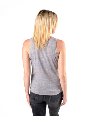 Three Zero Eight Tie Front Tank