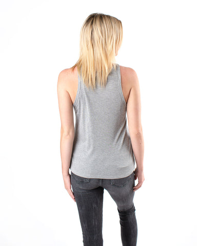Front Button Sleeveless Top