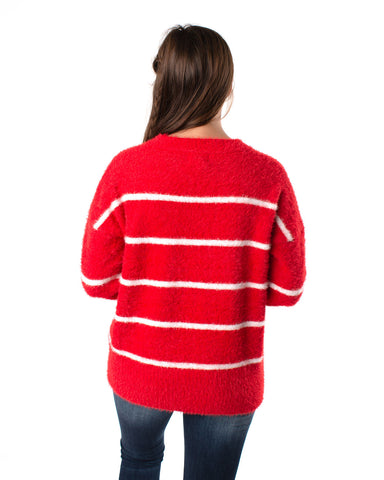 Stripe Long Sleeves Sweater