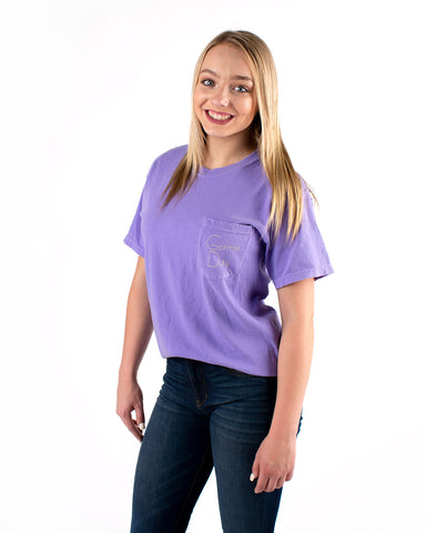 Short Sleeve Duster Pocket Tee