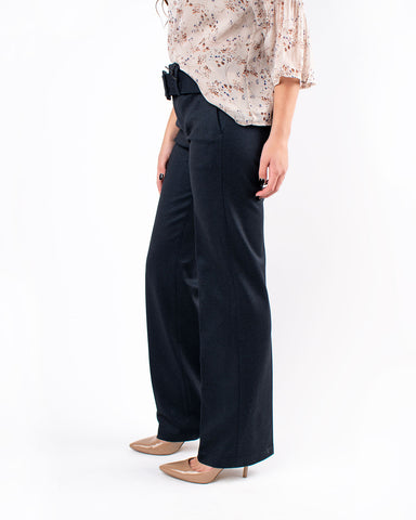Taylor Trouser Belted High Rise