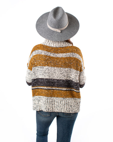Multi Stripe Knit Sweater