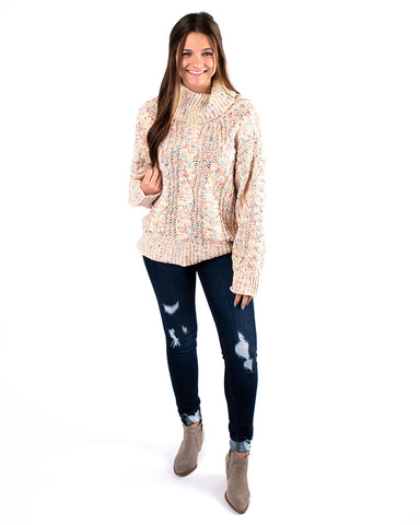 Multi Speckled Sweater