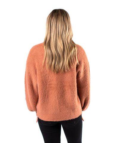 Light Fur Knit Sweater