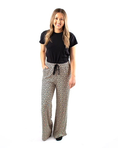 The Mini Heart Wide Leg Pant