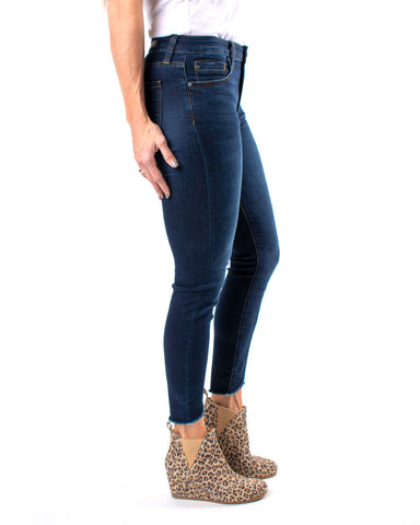 Connie High Rise Ankle Skinny