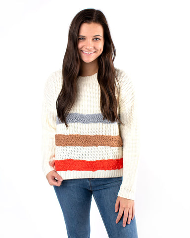 Multi Striped Sweater