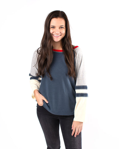 Terry Raglan Sweater