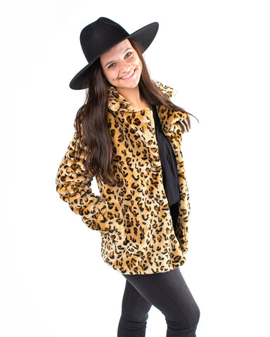 Leopard Fur Coat