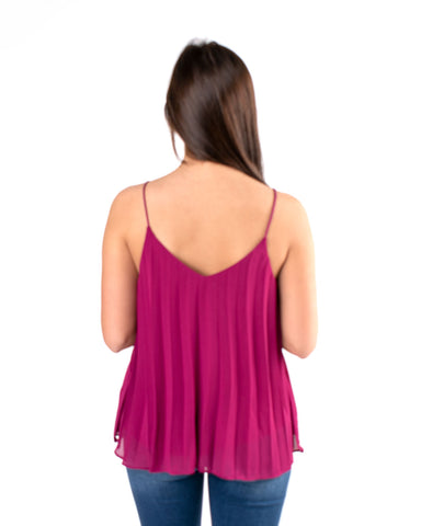 Woven Pleated Cami