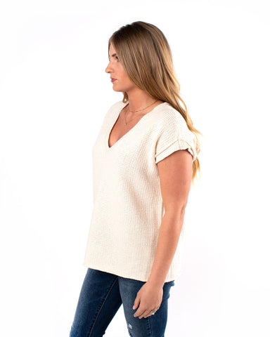 Spring Street Short Sleeve Sweater