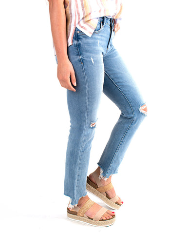 Blaire Slim Straight Denim