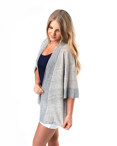 Light-Weight Open Front Cardigan
