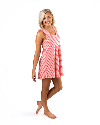 The Yuma Stripe Linen Breezy Dress